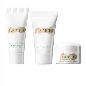 La mer set lamer Cleanser cream oil new x3